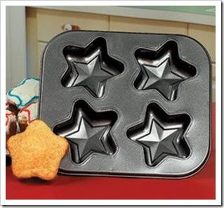 star cupcake tins