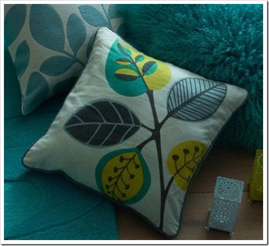 Retro Leaves Cushion from the Next UK online shop 08092010 225536