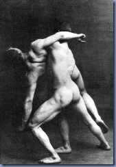 30s_french_soldiers_wrestling_nude