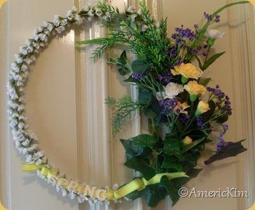 Americkim S Home Diy Springtime Door Wreath