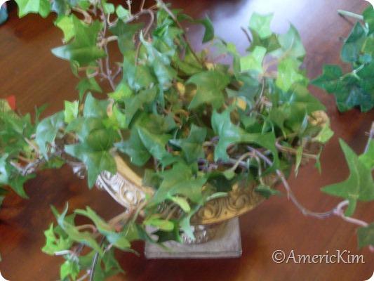 Christmas Silk Flower Arrangement-2