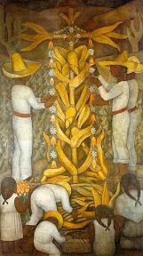 Maíz-Mural de Diego Rivera