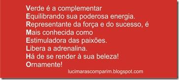 Cor Vermelho