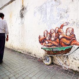 by Sunny Wong - City,  Street & Park  Neighborhoods
