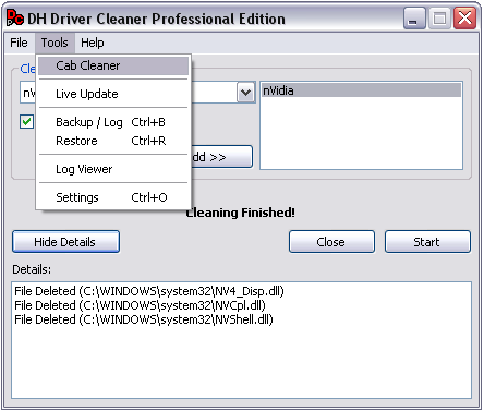 Driver Cleaner Professional Edition