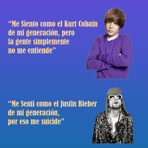 Justin Bieber - Kurt Cobain