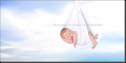 Another aweome baby pic by Marie!