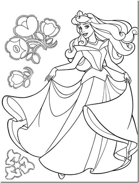 dibujos-princesas-colorear-imprimir