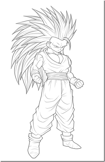 SSj3_T_Gohan___Thick__Lineart__by_2D75