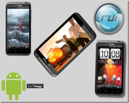 HTC Thunderbolt with 4G