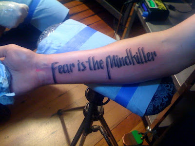 Fear is the Mind-Killer