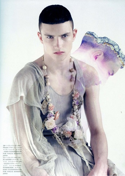 VGL | Jacob Coupe in Vogue Hommes Japan Vol 4