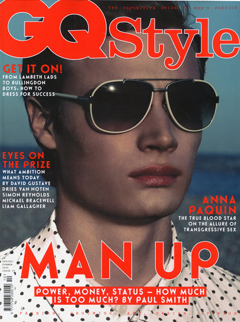 Harrison Cooter by Chad Pitman for GQ Style UK S/S 2010