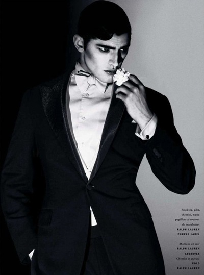 VGLMen.com | Sean O'Pry by David Sims for Vogue Hommes Intl S/S 2010
