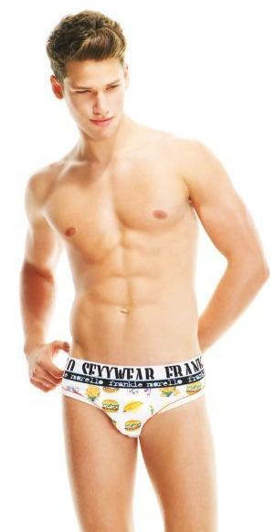VGLMen.com | Arthur Sales in 2010 Frankie Morello Sexywear Lookbook