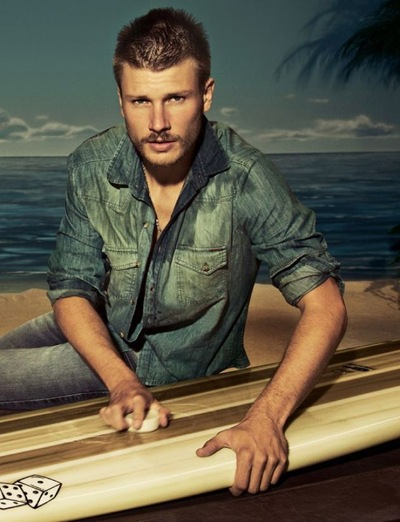 Rodrigo Hilbert by Jacques Dequeker for Colcci S/S 2010