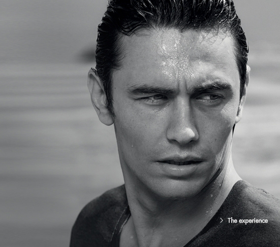 James Franco for Gucci Sport Pour Homme by Inez & Vinoodh 2010