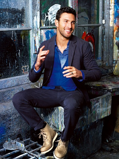 Noah Mills by Ali Kepenek for Wormland, March 2010