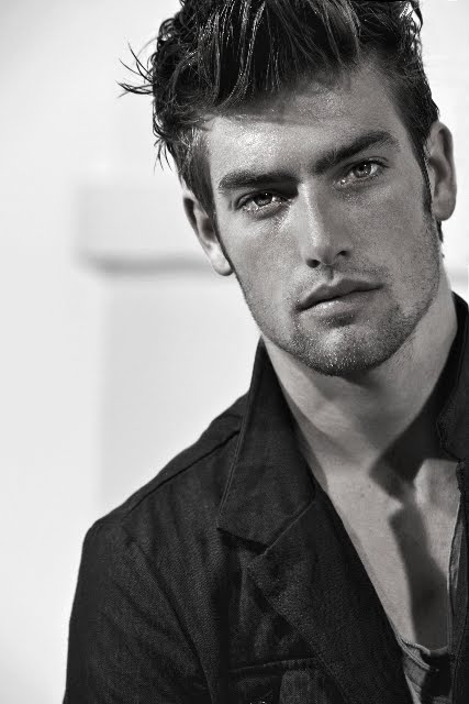 Justin Hopwood by Marco Marezza | VGL | The Male Model Daily