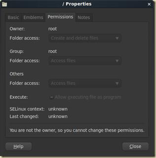 Screenshot-- Properties