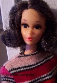 Walking Jamie doll brunette Sears Exclusive 1970s Barbie doll Mattel