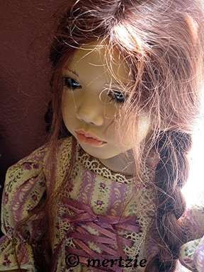 Annette Himstedt doll Madina Girl from Russia 1990s