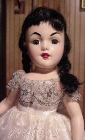 Princess Summerfall Winterspring doll Beehler Arts Howdy Doody 1950s
