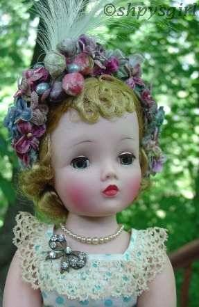 Madame Alexander Cissy doll 1950s doll jewelry hard plastic