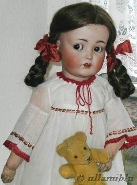 Antique bisque doll Kammer & Reinhardt 1900s