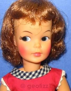 Tammy Pepper no freckles Ideal doll 1960s