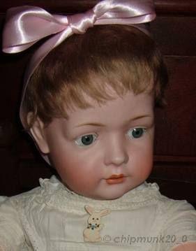 Antique bisque doll Bruno Schmidt
