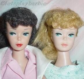 Mattel Barbie doll PT ponytail #5 #6 Satin Bolero Fashion Pak Cotton Mix n Match Group 1960s