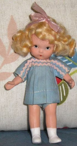 Nancy Ann Storybook doll bisque