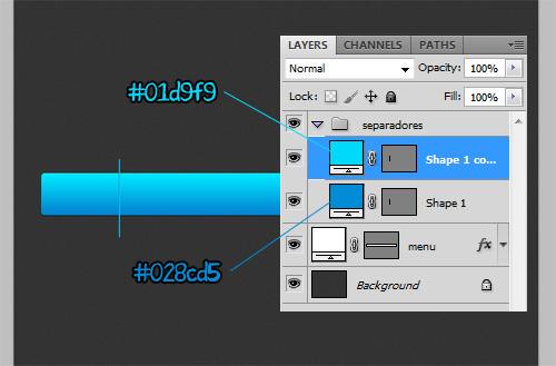 [Tutorial] Elegante menu azul no photoshop Tmenu-p12