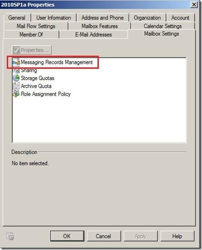 User - Mailbox settings-markup
