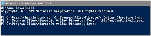 DirSync - ps1 file