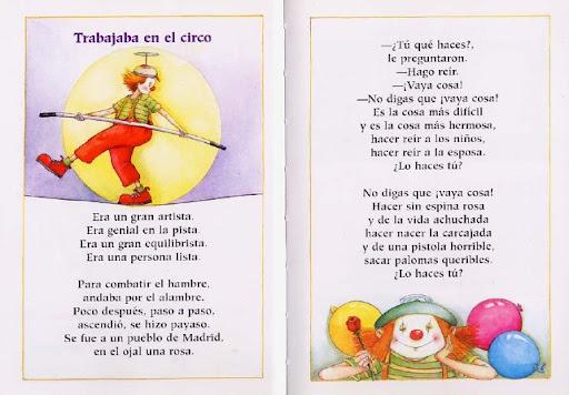 POEMAS INFANTILES DE GLORIA FUERTES PARA IMPRIMIR