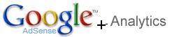 google adsense + analytics