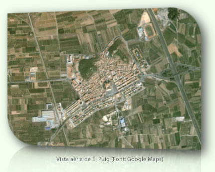 El Puig vist a Google Maps