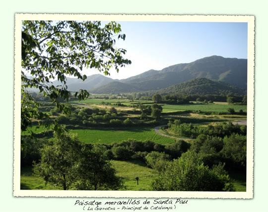 Paisatge de Santa Pau