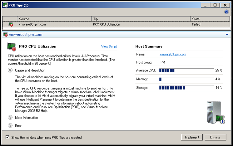So have you played with Microsoft's SCVMM yet?