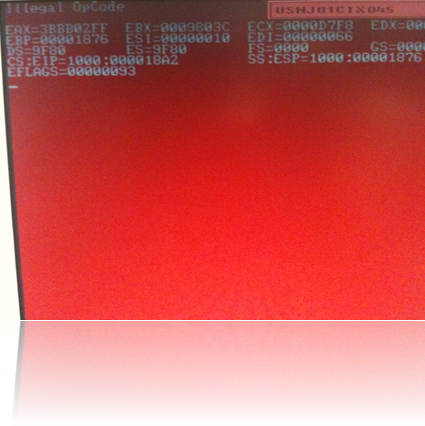 HP Red Screen of Death