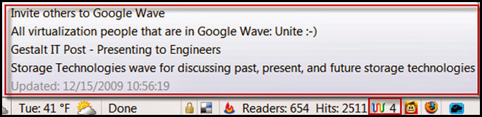 Are you using Google Wave?