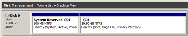 Provisioning Windows 2008 R2 Servers with Citrix PVS. Damn you System Reserved Partition!