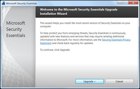 Microsoft Security Essentials 2.0 released.