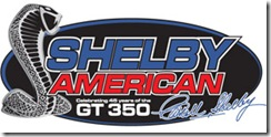 Official Shelby American Logo LVMS