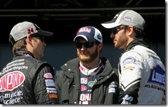 2010 Las Vegas NSCS driver intros Jeff Gordon Jimmie Johnson Dale Earnhardt Jr