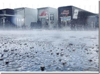 Truck Kansas rain & hail