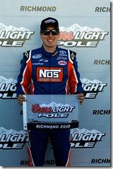 Richmond NNS polesitter Kyle Busch