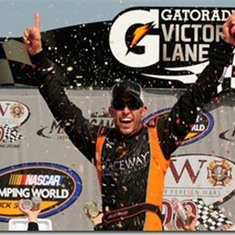 Almirola Edges out the Competition in Michigan (NCWTS)